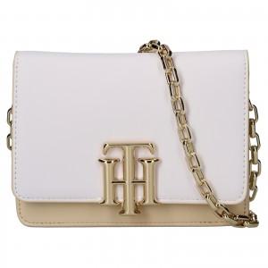 Dámska crossbody kabelka Tommy Hilfiger Celine - béžovo-biela