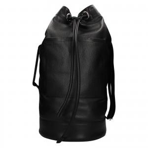 Kožený lodný vak facebag Bounty - čierna