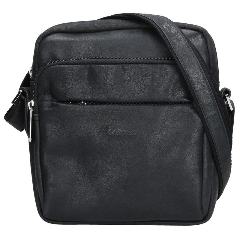 Pánska taška na doklady Katana Plentn - čierna