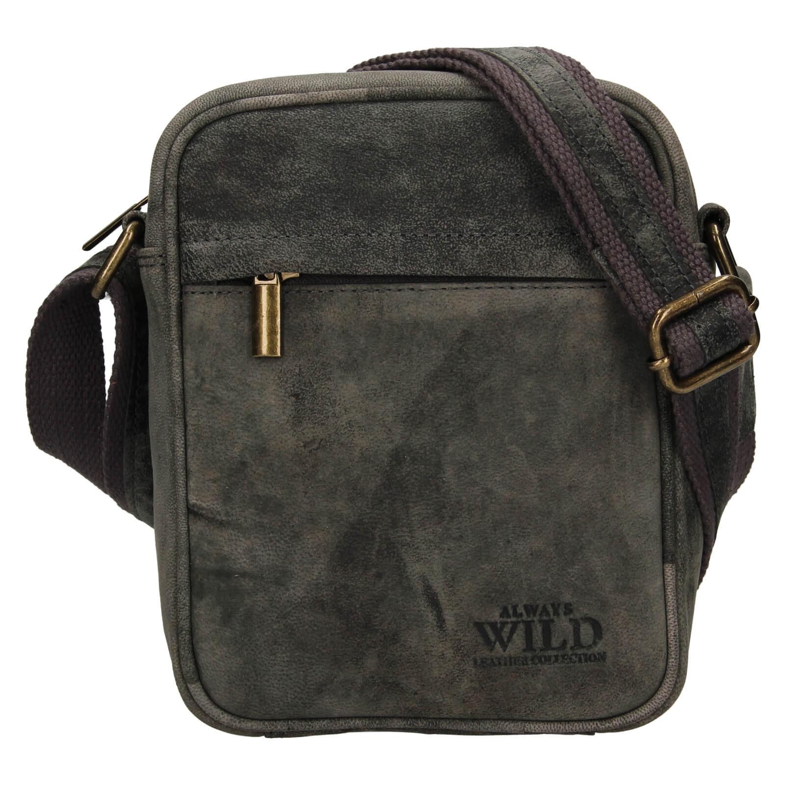 Pánská taška přes rameno Always Wild Filip - čierna