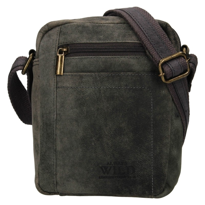 Pánská taška přes rameno Always Wild Mach - čierno-šedá