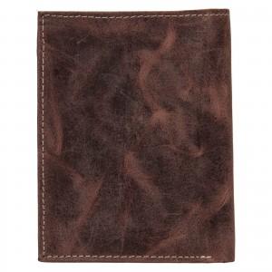 Pánska kožená peňaženka Wild Buffalo Štěpán - hnedá