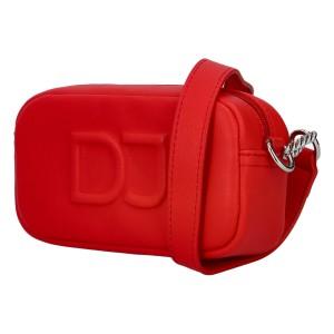 Dámska crossbody kabelka David Jones Apeli - červená