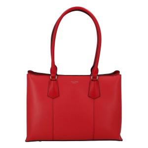 Dámska kabelka David Jones Hilleberta - červená
