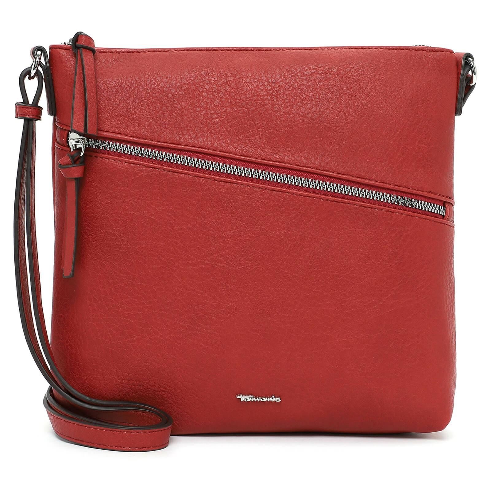 Dámska crossbody kabelka Tamaris Tecla - červená