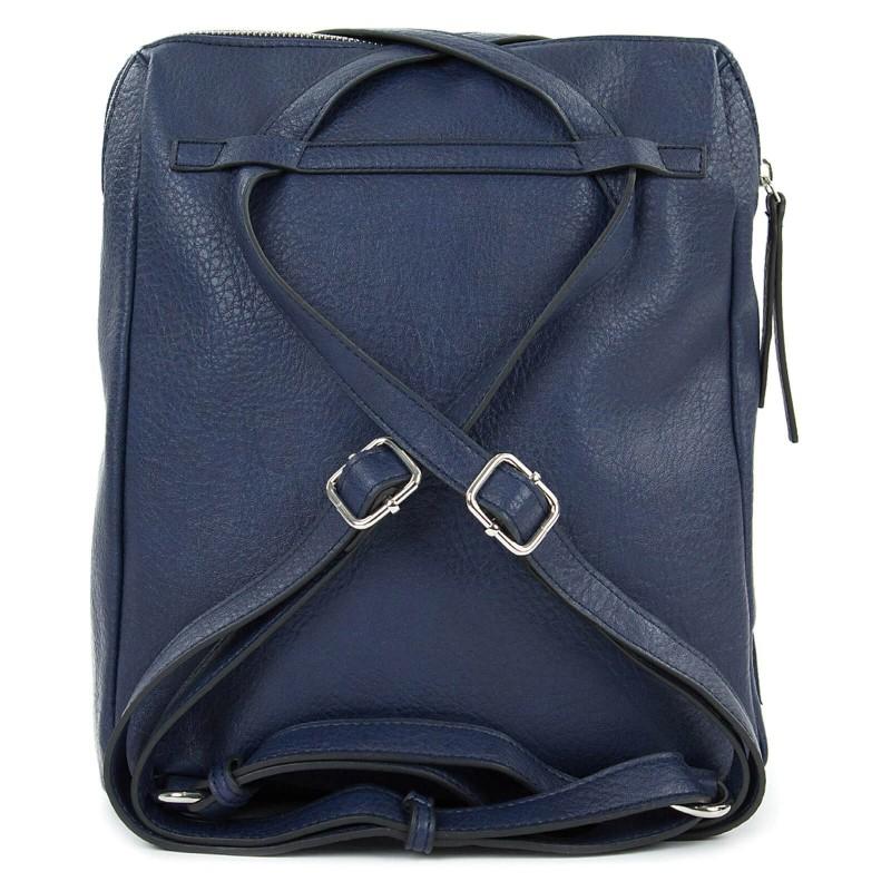 Dámska batôžky-kabelka Tamaris Adole - modrá