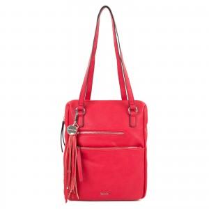 Dámska batôžky-kabelka Tamaris Adolej - červená