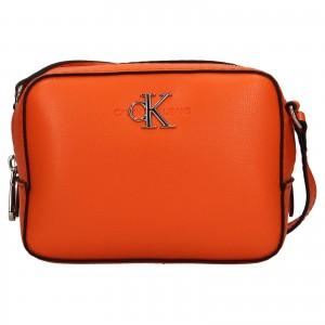 Dámska crossbody kabelka Calvin Klein Stella - oranžová
