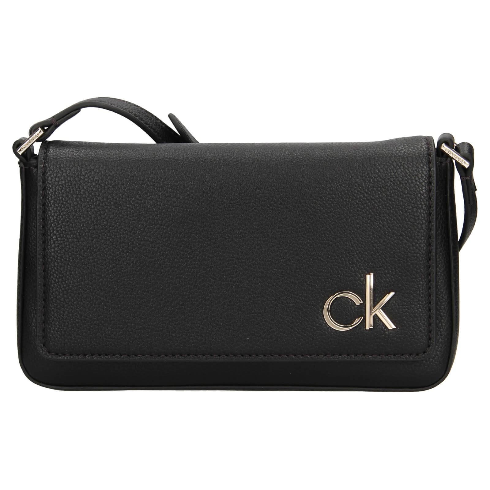 Dámska crossbody kabelka Calvin Klein Brian - čierna