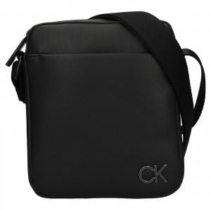 Pánska taška cez rameno Calvin Klein kutts - čierná