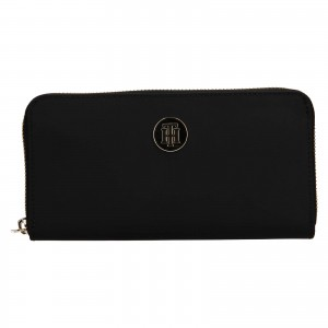 Dámska peňaženka Tommy Hilfiger Francoise - čierna