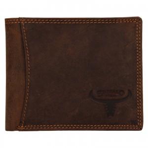 Pánska kožená peňaženka Wild Buffalo Huberts - svetlo hnedá