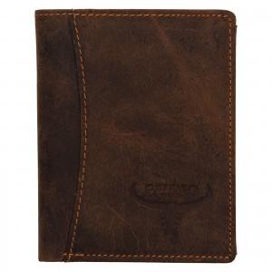 Pánska kožená peňaženka Wild Buffalo Horst- svetlo hnedá