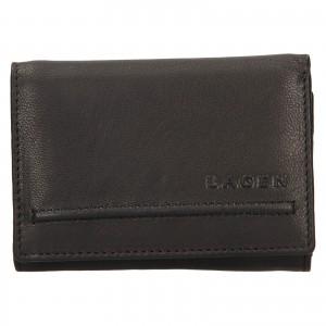 Dámska kožená peňaženka Lagen Kateřina - čierna