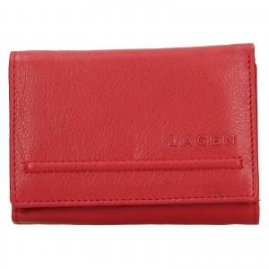 Dámska kožená peňaženka Lagen Kateřina - červená