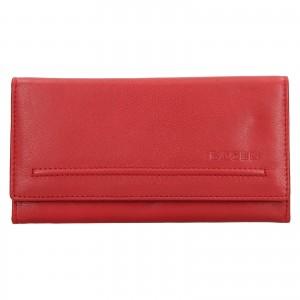 Dámska kožená peňaženka Lagen Ludmila - červená