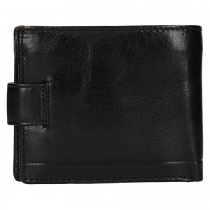 Pánska kožená peňaženka Rovicky Oskar - čierna