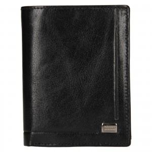 Pánska kožená peňaženka Rovicky Lucas - čierna