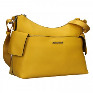 Dámska kabelka Marina Galant Léa - žltá