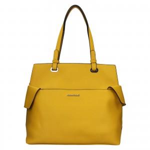 Dámska kabelka Marina Galant Venla - žltá