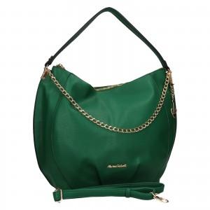 Dámska kabelka Marina Galant Pages - zelená
