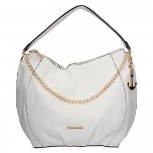 Dámska kabelka Marina Galant Pages - biela