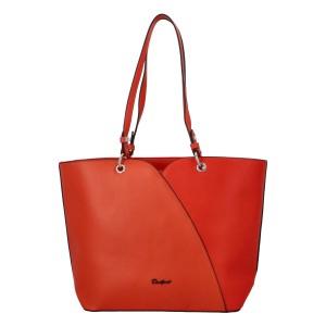 Dámska kabelka David Jones Aline - oranžová