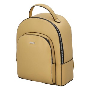 Módny dámsky batoh David Jones Milade - žltá