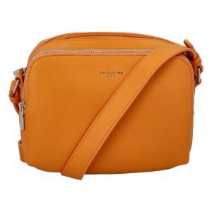 Dámska crossbody kabelka David Jones Berdine - oranžová