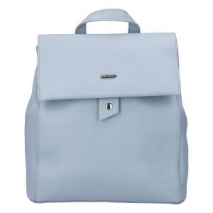 Módny dámsky batoh David Jones Dione - modrá