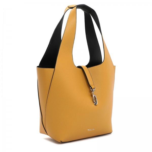 Dámska 2v1 kabelka Tamaris Cordula - žlto-čierna
