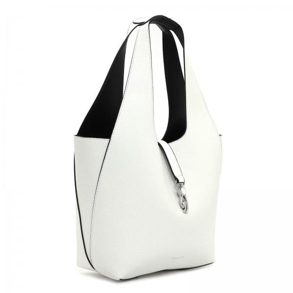 Dámska 2v1 kabelka Tamaris Cordula - bielo-čierna