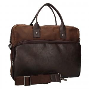 Pánska pracovná taška Lerros Harry - hnedá