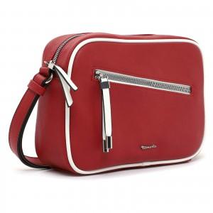 Dámska crossbody kabelka Tamaris Klara - červená