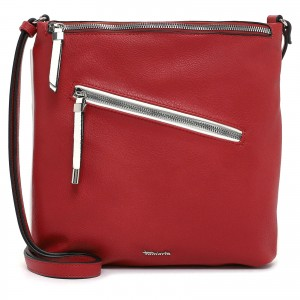 Dámska crossbody kabelka Tamaris Julita - červená