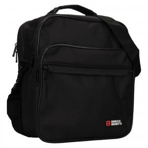 Pánska taška cez rameno Enrico Benetti Jonsen- čierna