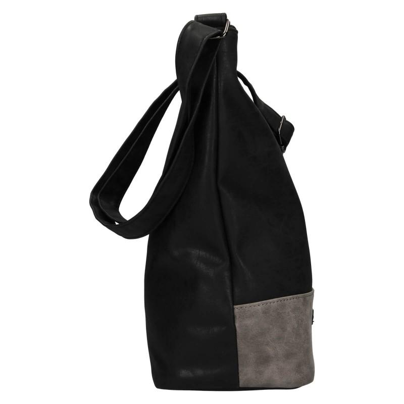 Dámská crossbody kabelka Enrico Benetti Eloise - čierna