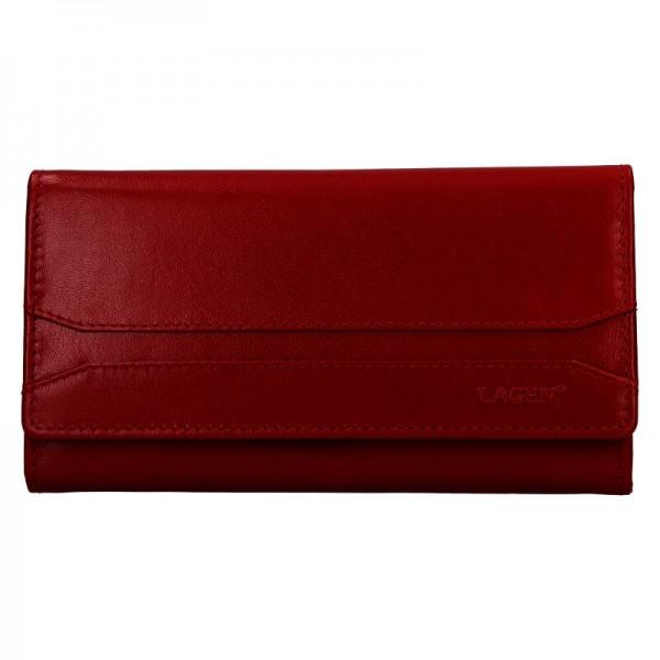 Dámska peňaženka Lagen Camilla - tmavo červená