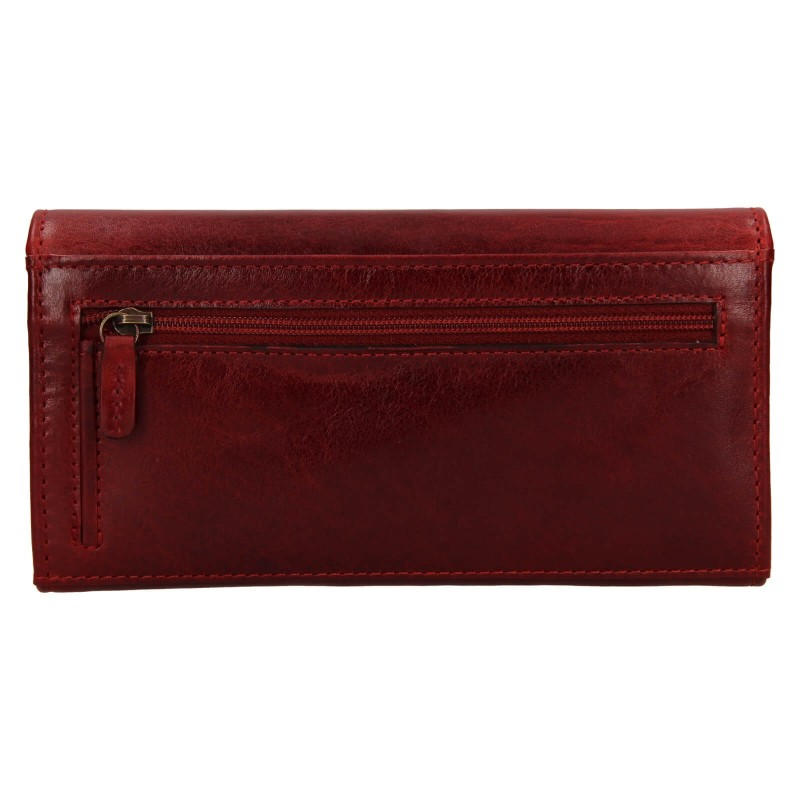 Dámska peňaženka Lagen Marion - tmavo červená