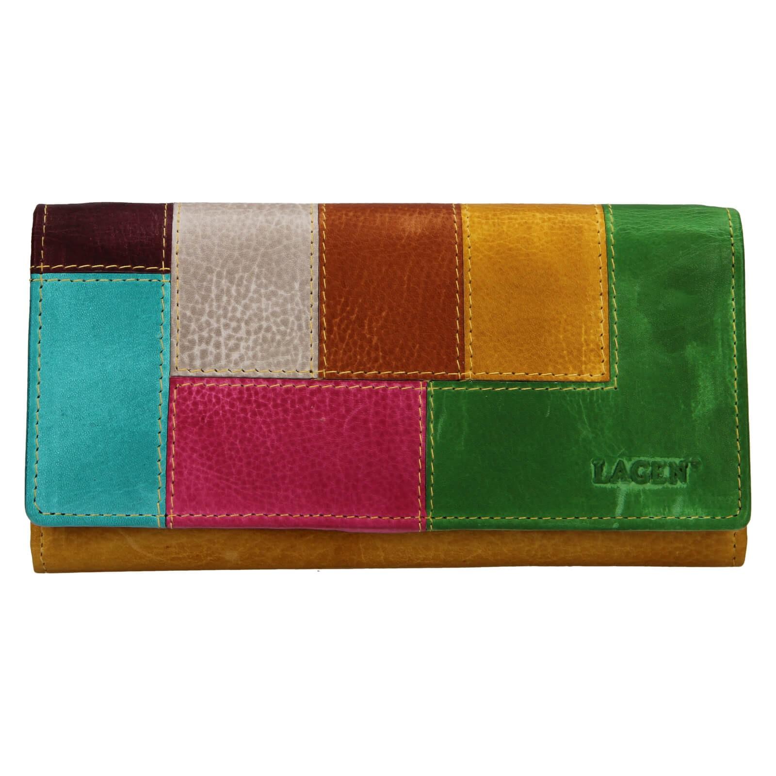 Dámska kožená peňaženka Lagen Petra