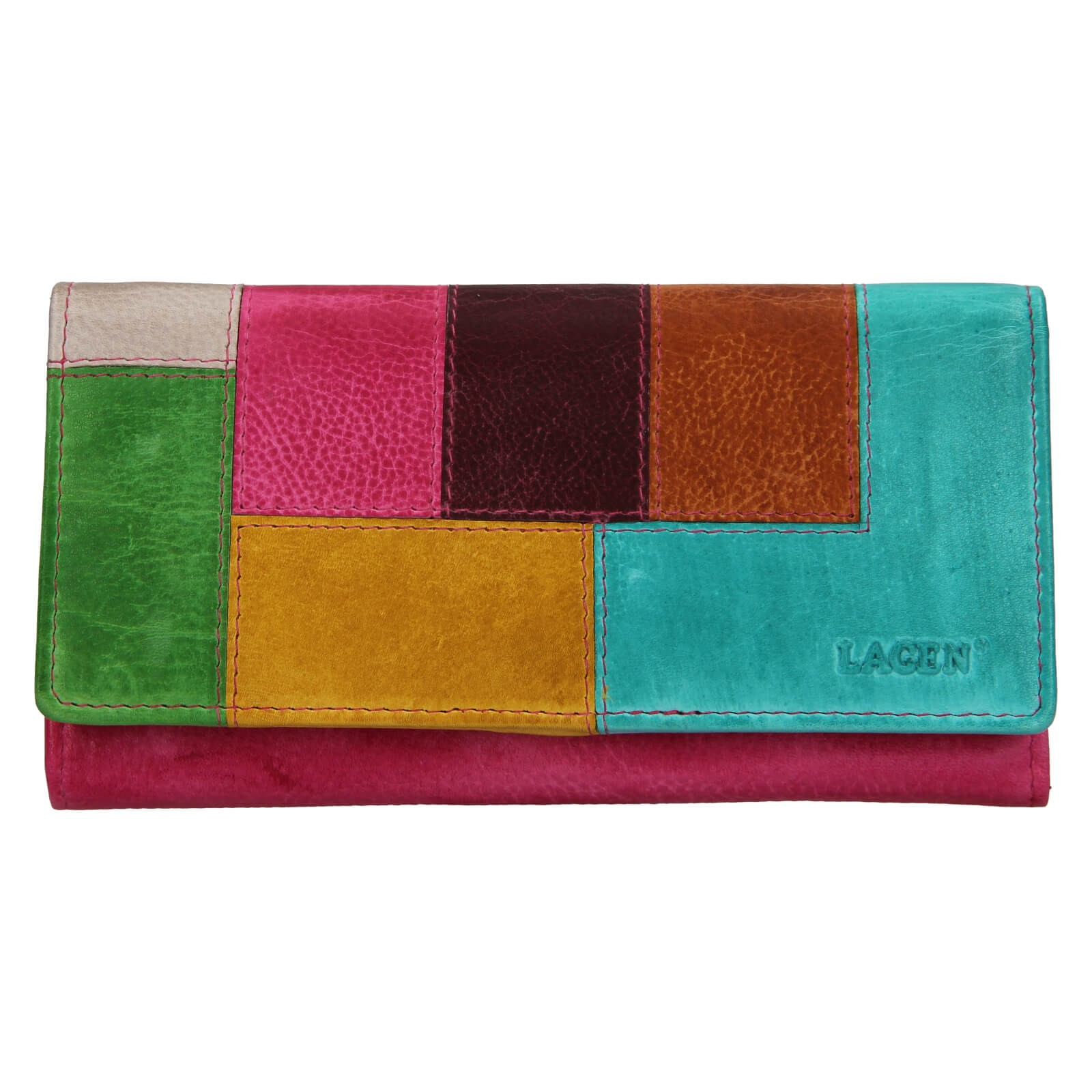Dámska kožená peňaženka Lagen Romana