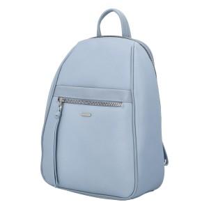 Módny dámsky batoh David Jones Izolda - svetlo modrá