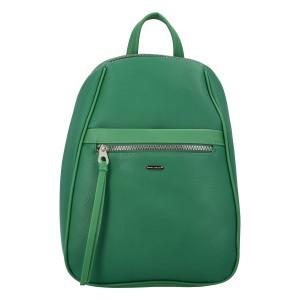 Módny dámsky batoh David Jones Izolda - zelená