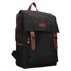 Trendy batoh Rovicky Monarch - čierno-hnedá
