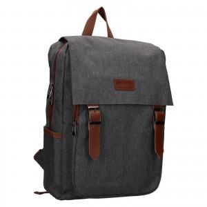 Trendy batoh Rovicky Monarch - šedo-hnedá