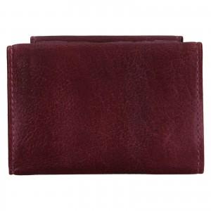Dámska kožená slim peňaženka Lagen Mellba - fialová