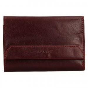 Dámska kožená peňaženka Lagen Denisa - vínová