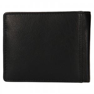 Pánska kožená peňaženka Lagen Levi - čierna