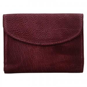 Dámska kožená peňaženka Lagen Julie - vínová