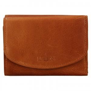 Dámska kožená peňaženka Lagen Julie - koňak
